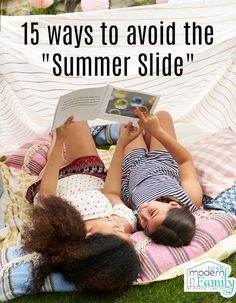 "Did you know that during those summer months, children can lose up to three months of academic progress? This is referred to as the ""summer slide."""
