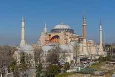Most Famous Churches In The World: Hagia Sophia, Istanbul (source: wiki)