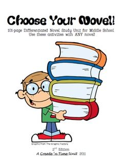 101-page unit for middle school. Use this packet to study ANY novel. Students have required and choice activities. Includes Student Learning Contract, Evaluation Rubric, and much more!