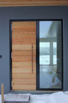 The Door. House D, Nokia  Modern Finnish architecture  www.tilasto.info
