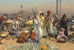 سوق في مصر للفنان ليوبولد كارل مولر - متحف www.mathaf.gallery800 × 550Buscar por imagen للفنان ليوبولد كارل مولر