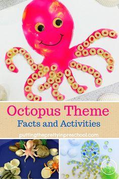 Preschool Art Activities, Ocean Activities, Preschool Activities, Letter O Activities, Preschool Arts And Crafts, Classroom Crafts, Toddler Art, Toddler Crafts, Letter O Crafts