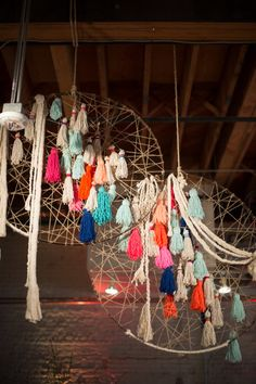 Tassel dream catcher