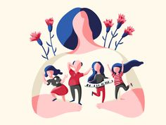 Illustrations of May on Behance