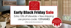 Dress Your Home For the Holidays with our Early Black Friday Sale!