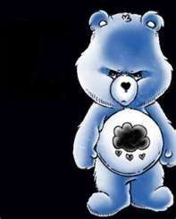 When it's not quite 3 on a busy Friday...I want to go home; grumpy bear
