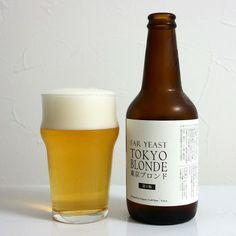 日本クラフトビール FAR YEAST TOKYO BLONDE Packaging Snack, Packaging Ideas, Beer Bottle, Whiskey Bottle, Japanese Sake, Beer Label, Bottle Design, Package Design, Restaurant Bar