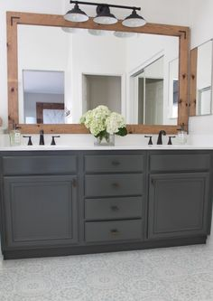 THIS is how to refinish yours for professional results How To Refinish Bathroom Cabinets & DIY & Domestic Blonde Source by. The post How To Refinish Bathroom Cabinets Bathroom Renos, Bathroom Flooring, Bathroom Renovations, Bathroom Furniture, Home Remodeling, Bathroom Ideas, Bathroom Makeovers, Easy Bathroom Updates, Remodel Bathroom