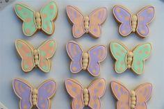 Galletas Mariposa - Butterfly Cakes