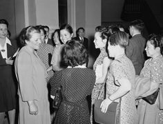U.S. Immigration Law Is Racist Enough To Allow Trump's Muslim Visitor Ban   After Pearl Buck urged the house immigration committee to repeal the Chinese Exclusion Act, she was met in the hall by a group of Chinese women who thanked her for her interest in their plight, in Washington, on May 20, 1943.
