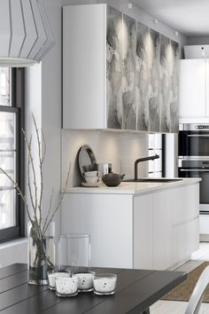 Create a kitchen that is uniquely you! Whether you love to entertain or prefer a quiet dinner for two, you can design your perfect layout with IKEA SEKTION kitchens.