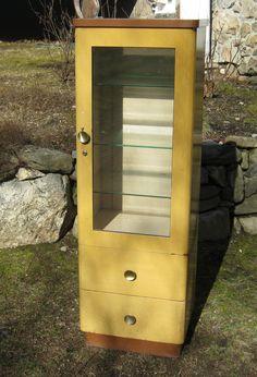 Vintage+Machine+Age+Medical+Doctors+Cabinet+by+stonehousevintage,+$575.00