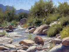 "by Allison Malafronte Every month I allow you to come into my cube for a few minutes and ""listen in"" on a conversation I had with a top plein air painter. I try to ask the artist the questions I think you as aspiring professional plein air painters or serious amateurs would want answered, and…"