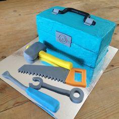 TOOL BOX CAKE KIT $52.95  - This super fun DIY cake kit comes with everything…