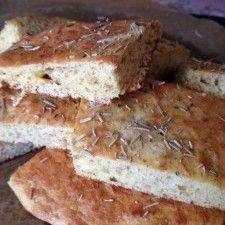 Grain Free Rosemary Focaccia Bread Recipe