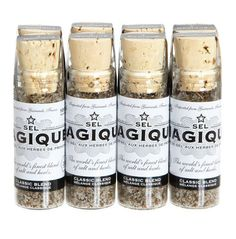 Gourmet Salt Set by Sel Magique Gourmet Salt, Best Butter, The Fam, Baking Ingredients, Cookie Dough, Typography Design, Gifts For Friends, Packaging Design