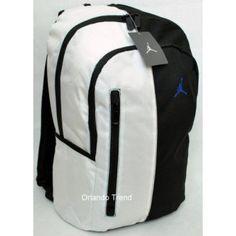 Nike Air Jordan 15 Laptop White and Black Laptop Backpack 9A1364-610 at  OrlandoTrend.com 3dbc380e21