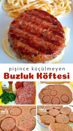 Meat Recipes, Cooking Recipes, Turkish Recipes, Best Appetizers, Granola, Good Food, Food And Drink, Favorite Recipes, Beef