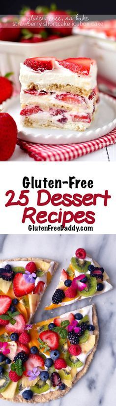 The 25 Best Gluten Free Dessert Recipes