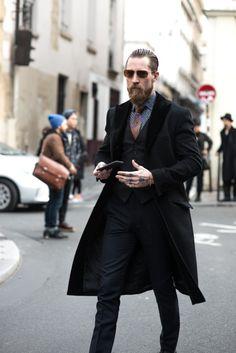 http://chicerman.com  billy-george:  Justin O'Shea  #streetstyleformen