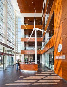 GE renewable energy headquarters. (lobby)
