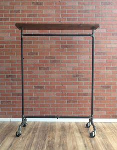 Industrial Pipe Clothing Rack with Cedar Wood Shelving by William Roberts Vintage This Industrial Style Vintage Clothing Rack is made to last forever. Using black pipe and Iron pipe fittings, Closet Shelves, Closet Storage, Storage Shelves, Shelving, Rack Shelf, Closet Organization, Clothing Organization, Pipe Shelves, Closet Doors