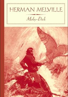 Moby Dick by Herman Melville. OK, Herman, we get it. American Literature, Classic Literature, American History, Melville Moby Dick, Books To Read, My Books, Works Of Shakespeare, Adventure Of The Seas, I Love Reading