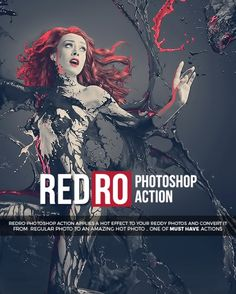 RedRo #upgrade #photoshop #action