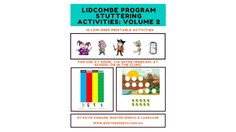 Lidcombe Program stuttering activities: Volume 2 printable activities for face-to-face and Skype therapy Therapy Activities, Speech And Language, Programming, Childhood, Printables, School, Face, Infancy, Print Templates