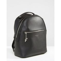 Fiorelli Anouk Mini Black Backpack (£55) ❤ liked on Polyvore featuring bags, backpacks, mini rucksack, day pack backpack, daypack bag, fiorelli backpack and fiorelli bags