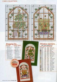 points de croix Noël-m@- Christmas Cross stitch