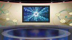 virtual studio screen background tv animation 4d cinema greenscreen motion photoshop graphics