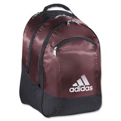 The Striker Team Backpack has three freshPak separate and ventilated compartments to keep your gear smelling fresh. Includes a Tricot -lined media pocket. Also inside is a zippered valuables pocket wi Soccer Cleats, Soccer Ball, Soccer Accessories, Urban Outfitters, Soccer Shop, Soccer Equipment, Adidas, Shoe Shop, Gym Bag