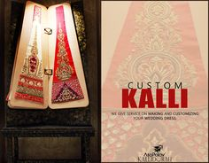 The best way to get a #Wedding dress of your choice, #Customize it! Drop in at Asopalav today!