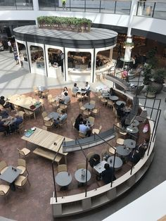 Caffe Cherry Bean The Glen – Melball Shopfitting Services Restaurant Layout, Restaurant Interior Design, Cafe Interior, Cafe Restaurant, Food Court Design, Shoping Mall, Shopping Mall Interior, Mall Design, Design Design