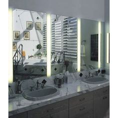 Reflections 2 Light Vanity Fixture by Dreamscape Lighting | dl-8236-c