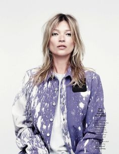 Kate Moss in the latest issue of Another Magazine.