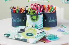 For Your Home | Thirty-One Gifts Oh snap bins ($10) make GREAT teacher gifts, so do oh snap pockets ($15)!