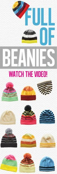 Cleckheaton Free Beanie Knitting Patterns