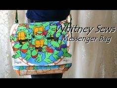 İ have tried this today. Whitneys tutorials are so easy .thanks to whitney for Messenger Bag Tutorial