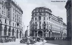 Milano - Piazza Meda anni 1930