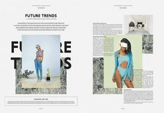 The Vision Paper Typography Layout, Graphic Design Typography, Editorial Layout, Editorial Design, Editorial Fashion, Mise En Page Magazine, Mise En Page Web, Magazine Layout Design, Magazine Layouts