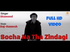 Socha Na Tha Zindagi | Singer Diamond | Sad Love Song | Moxx Music Compa...