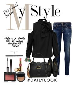 """My Style 2"" by triplee2017 ❤ liked on Polyvore featuring Robert Rodriguez, Chanel, Burberry, Urban Decay, Serge Lutens, Bobbi Brown Cosmetics, NARS Cosmetics and Yves Saint Laurent"