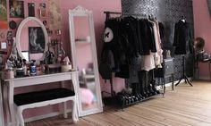 Pastel goth room