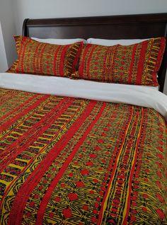 African Duvet Cover and Sham Set | UMENKI