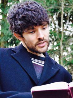The Rising // Colin Morgan Old Merlin, Merlin Cast, Colin Bradley, Bradley James, Sean Mcdermott, Merlin Memes, Bbc, Merlin Fandom, Laura Donnelly
