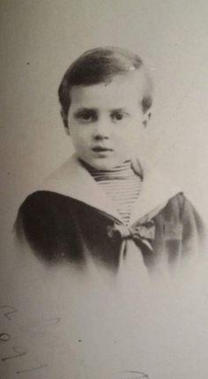 Grand Duke Dmitri Pavlovich Romanov of Russia as a young boy.