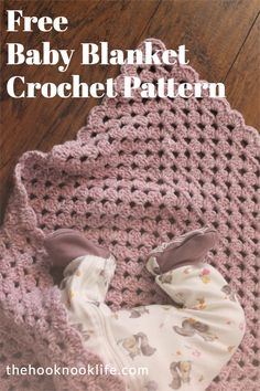 Come make this Cozy Baby Blanket using the Free Crochet Pattern on The Hook Nook Life Blog! Diy Crochet Patterns, Craft Patterns, Free Crochet, Knit Crochet, Chrochet, Easy Crochet, Crochet Ideas, Diy Crafts List, Free Baby Stuff