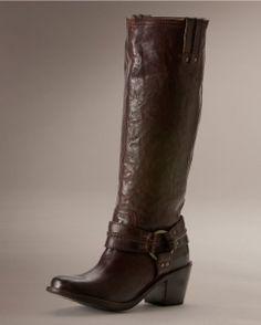 Frye Women s Vintage Carmen Harness Tall Boot - Dark Brown Review Buy Now